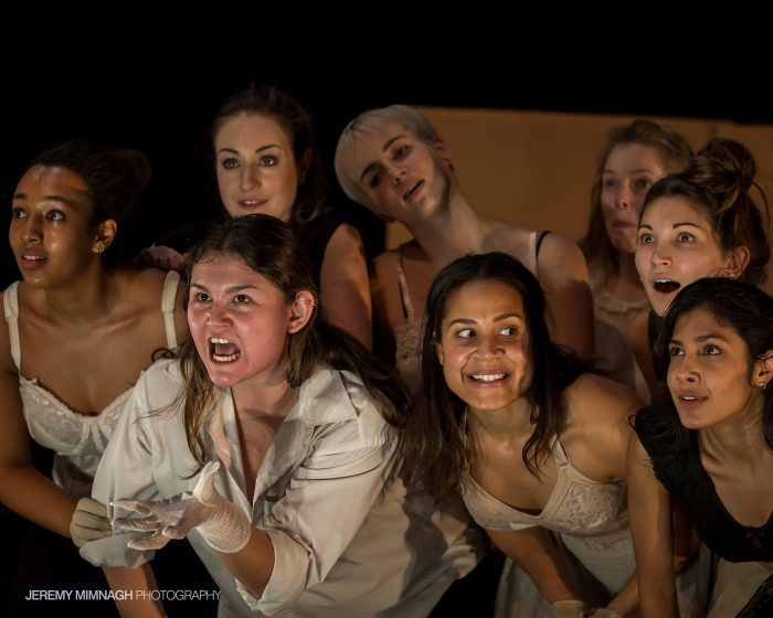 """""""The Yellow Wallpaper,"""" directed by Matthew Earnest, featuring actors from the MFA and BFA classes of 2017."""