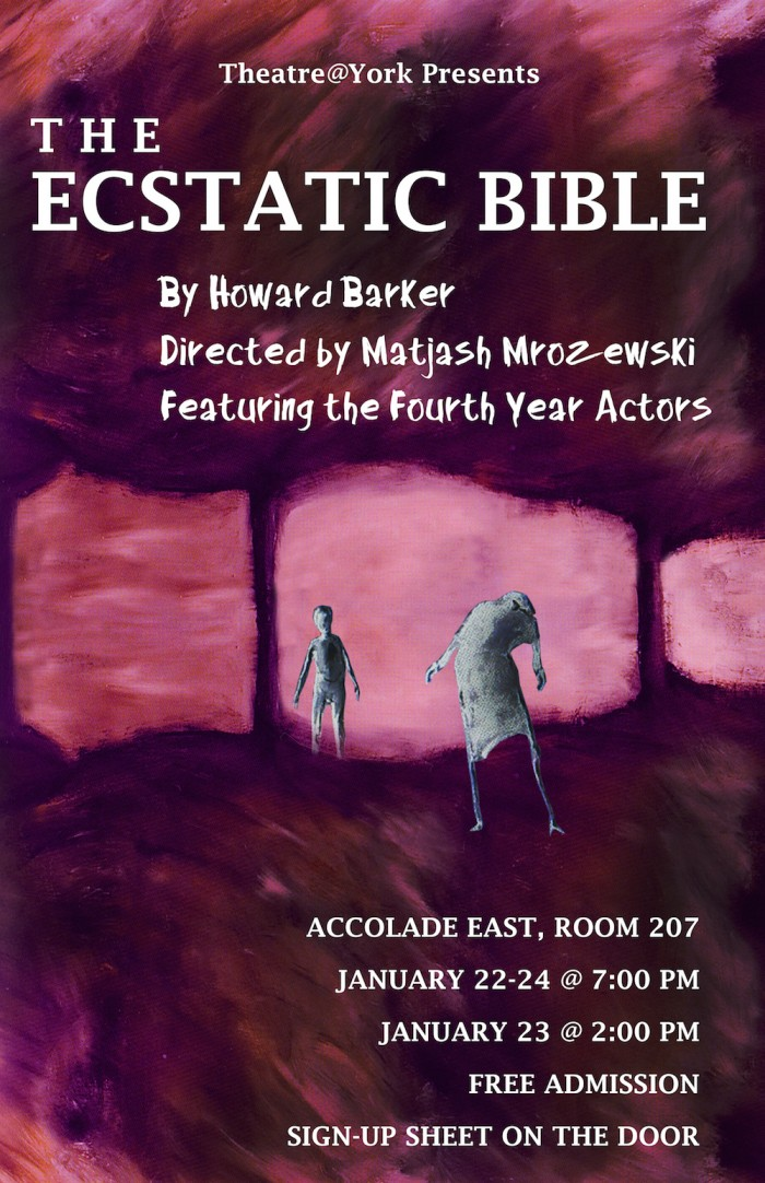 The Ecstatic Bible Poster