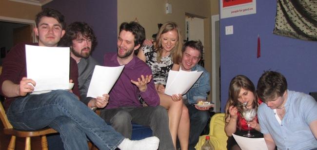Playwrighting alumni meet to read their work
