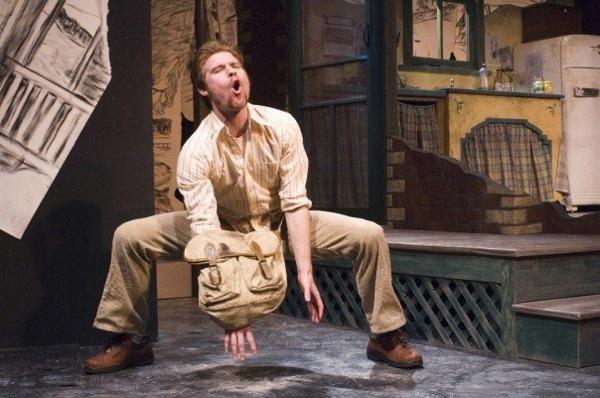 Jeff Giles in <em>The Drawer Boy</em> at Theatre Orangeville