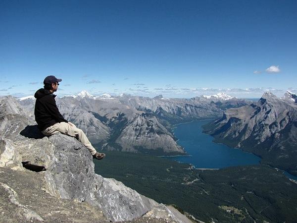 Albert Tam in Banff, AB