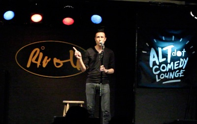 Andy Cheng does Stand-up comedy at the Rivoli