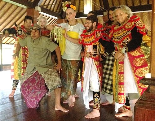Topeng Dance Class