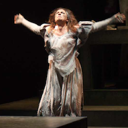 Daniela Pagliarello in a costume by Amelia Taverner in Wounds to the Face