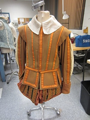A costume designed by Julianne