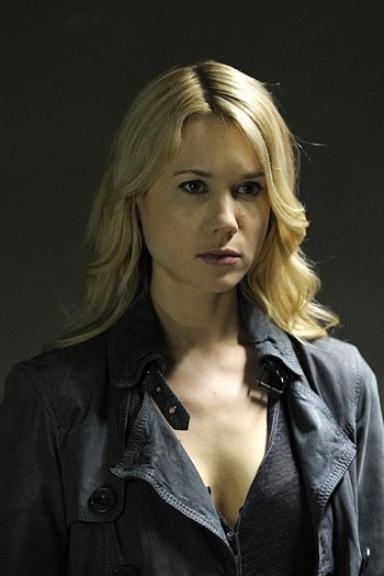 Kristen Hager as Nora on <em>Being Human</em>