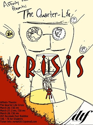 Quarter Life Crisis Poster