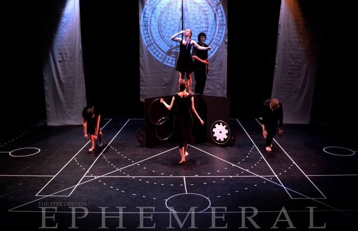 Ephemeral (pictured: Laura Commisso, Victoria Stacey, Matt Carson, Justyn Racco, and Rachel Kennedy)