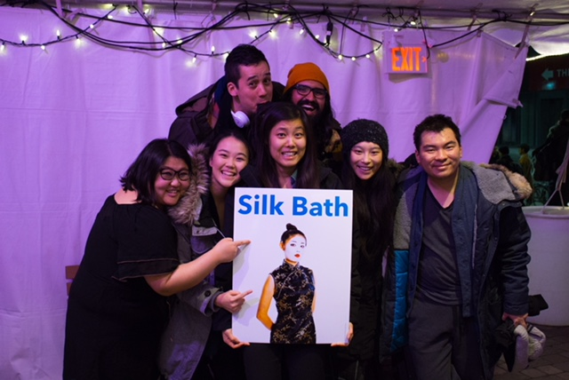 Bessie Cheng and the Cast and Crew of Silk Bath