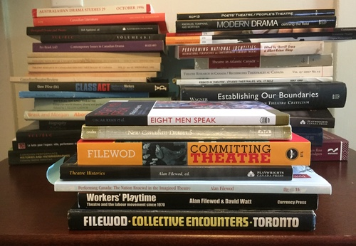 Some of Alan Filewod's many published works