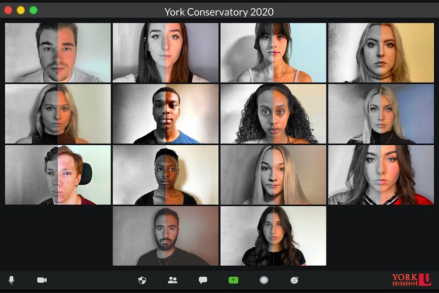 The 2020/21 4th year Acting Conservatory